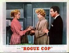 ROGUE COP 11x14 ROBERT TAYLOR/ANNE FRANCIS/JANET LEIGH original lobby card
