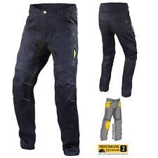 Trilobite Parado Dyneemic Pro Motorrad Hose Herren Blau Stretch Protektor Jeans