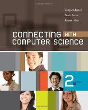 Connecting with Computer Science, Greg Anderson, David Ferro, Robert Hilton, Goo