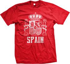 Spain Symbol Spanish Espana Distressed Country Born From ESP ES Am Men's T-Shirt