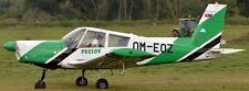 Z-43 Zlin Aeroklub Presov Moravan Z43 Airplane Kiln Wood Model Replica Large New