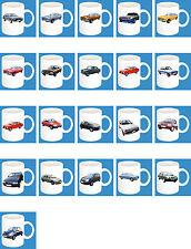 300ml Ceramic Mug with motif: FORD EUROPE CAR MODELS Coffee Mug Part 1/2