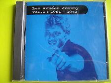 LES ANNEES JOHNNY  VOLUME 1 :1961 - 1972