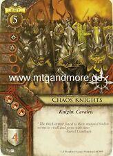 Warhammer Invasion - 2x Chaos Knights  #085