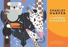 Charley Harper the Animal Kingdom Book of Postcards Aa633 by Pomegranate (Postca