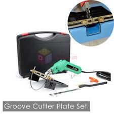 110V Styrofoam Electric Cutter Foam Hot Wire Knife Grooving Rope Cutter Machine
