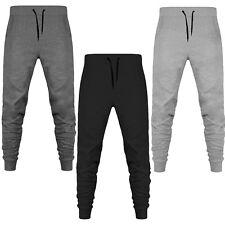 Men's Super Skinny Slim Fit Fleece Joggers Sweatpant Tracksuit Bottoms Jogging