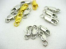 3 Tamaños Oval de garra de langosta Broche De Collar Pulsera extremos hágalo usted mismo joyas Resultados