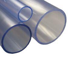 Transparentrohr PVC-U Rohr Kleberohr