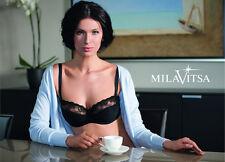 MilaVitsa Lingerie Set Silhouette 11746 / 26746 Classic Balconnette BH und Slip