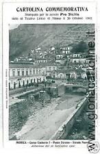 CARTOLINA d'Epoca:  MODICA - RAGUSA - ALLUVIONE 1902!!