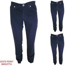 Guess pantalone linea jeans donna W30 in cotone blu slim gamba dritta vita alta