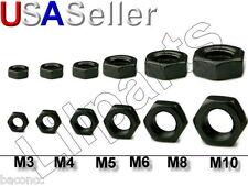 Black Oxide Steel Hex Nuts Metric M2 M2.5 M3 M4 M5 M6 M8 M10
