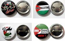 Free Palestine Protest Button Lapel Pin Badge Tin Plate Flag Emblem 3 Cm
