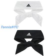 ADIDAS Tie II Tennis Headband White Black Head Tie