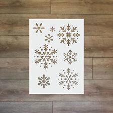 Snowflake - Christmas / Winter Reusable Plastic Stencil
