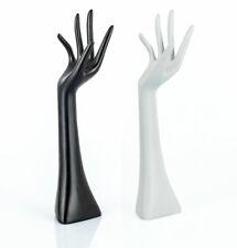 Schmuckhalter Schmuckhand Hand Halter Schmuck Dekohand Ringhalter Kunstharz 34cm