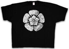 4xl & 5xl Oda clan Mon T-SHIRT-Tokugawa clan ninja samurai maglietta XXXXL XXXXXL