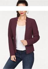 Only Blazer Madeline Gr.40 NEU Damen Jacke Bordeaux Boyfriend Business
