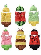 Newborn Kids Baby Boy Girls Infant Romper Jumpsuit Bodysuit Outfit Clothes 0-18M