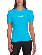 iQ UV 300 Shirt Slim Fit Ladies Women XS - XXL turquoise türkis Damen Schutz NEU