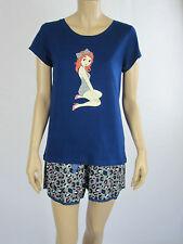 Mitch Dowd Ladies 2 Piece Pyjamas Lounge Wear Sleepwear sizes Medium Large