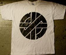 Crass - 'Big Logo' T-shirt (punk oi blitz death joy zounds mob amebix kbd)