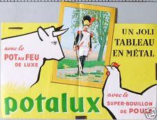 AFFICHE BOUILLON DE POULE POT AU FEU DE LUXE POTALUX