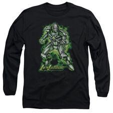 Superman Kryptonite Powered Mens Long Sleeve Shirt