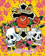 91189 ED HARDY 2008 VERSION MINI IN MEMORY OF LOVE Decor WALL PRINT POSTER CA