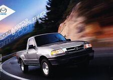2009 Mazda B2300 B4000 Truck Sales Brochure Catalog