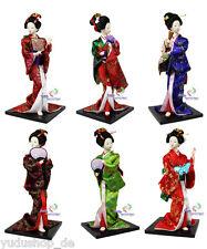 wunderschöne Japan Geisha -Puppe aus Seide Dekopuppe