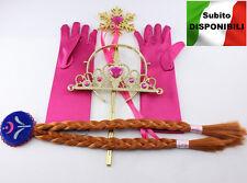 Frozen - Vestiti Carnevale Anna Set Accessori - Dress up Anna Costumes 457002