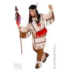 Boys Indian Boy Costume for Native American Wild West Cowboys Fancy Dress