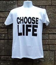 Choose Life 80's T shirt, retro Wham style fancy dress T Shirt