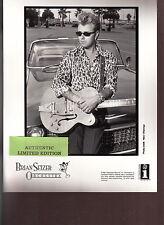 brian setzer limited edition press kit #2