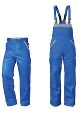 ELYSEE / CRAFTLAND Latzhose Bundhose Arbeitsjacke Arbeitshose kornblau/grau