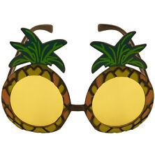 Fancy Pineapple Glasses Hula Hawaiian Party Fancy Dress Hen/Stag Do' Adult Specs