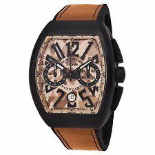 Franck Muller Men's Vanguard Camouflage Beige Dial Chronograph Watch 45CCCAMSND
