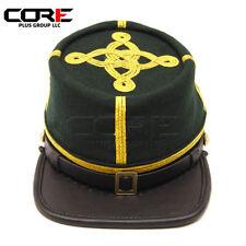 Civil War Berdans sharpshooter Green Majors 3 rows of Gold Braids kepi