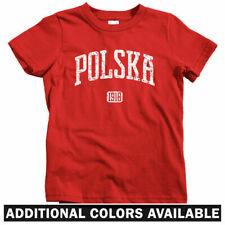 Polska 1918 Poland Kids T-shirt - Baby Toddler Youth Tee - Polish Krakow Wroclaw