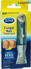 Scholl Fungal Nail Treatment  Liquid and Files 3.8ml Kills 99.9% of Nail Fungus