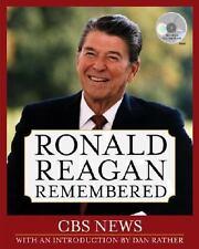 Ronald Reagan Remembered by CBS (2004)  1st ed. H/C D/J & CD president,politics,