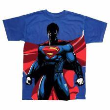 Mens Superman de pie todo oficial Impresión Retro T-Shirt-Dc Comics