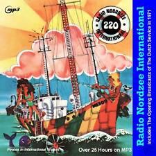 Pirate Radio - Radio Nordzee (Dutch Service RNI) MP3's on MP3 DVD Disc