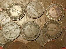DEUTSCHES REICH GERMANY Weimar 1 rentenpfennig KM#30 1923-1927 choose your coin
