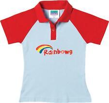 Official Girls Rainbows School Uniform Polo T Shirt Top Pack Of 2 Size XS-XL