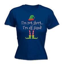 Im Not Short, Im Elf Sized WOMENS T-SHIRT tee x-mas santa funny Christmas gift