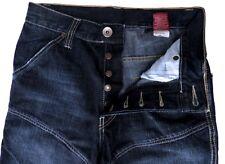 Jeans COSTELLO bleu foncé délavé pour HOMME garcon taille 35  pantalon boutons