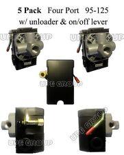 5 Pack Pressure control switch valve air compressor 95-125 Four port 5 PACK L4